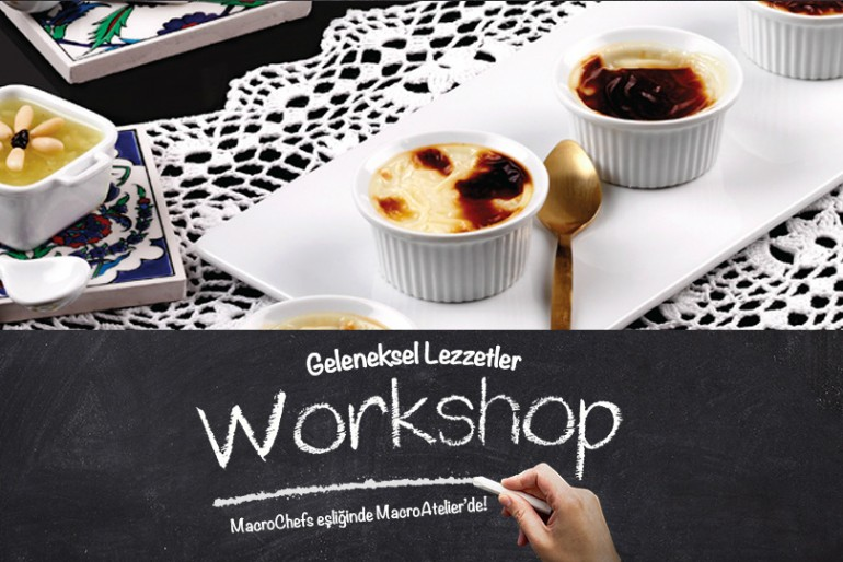 14-15 Temmuz MacroAtelier Workshop